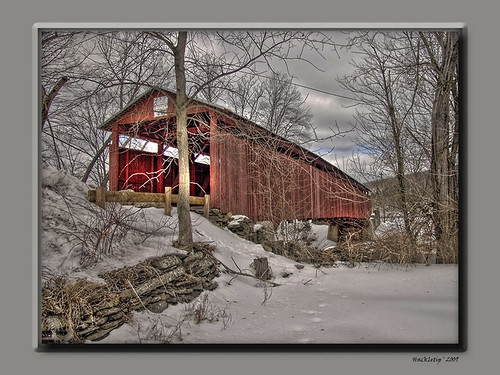 Stillwater Covered Bridge HDR | by Hackleltip