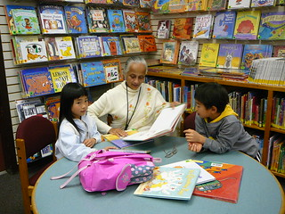 Reading to children. | by San José Library