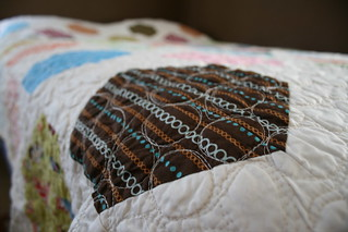 Big Hexes - Quilting Detail | by alissahcarlton