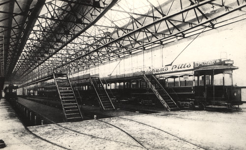 071378:Interior Byker Depot Byker Unknown 1905