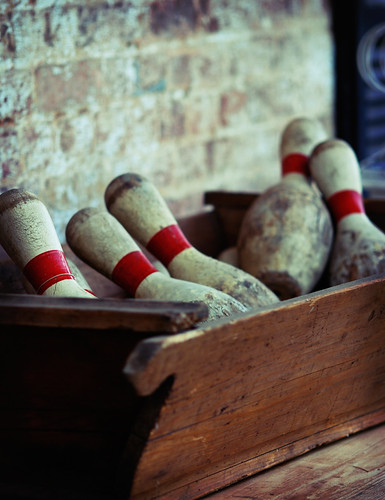 old bowling pins | by foxrosser