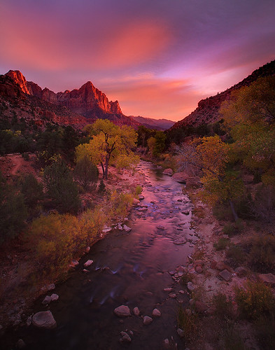 Zion National Park_The Watchman | by kevin mcneal