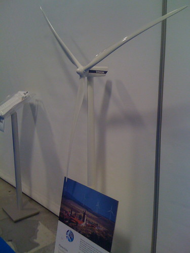 Wind display | by The Southern Alliance for Clean Energy