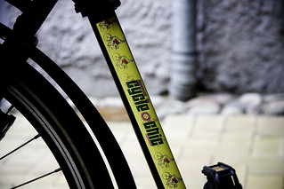 Frame Stickers Approved by Cycle Chic | by Mikael Colville-Andersen