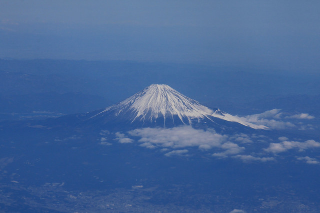 Airborne imagery: Mt. Fuji