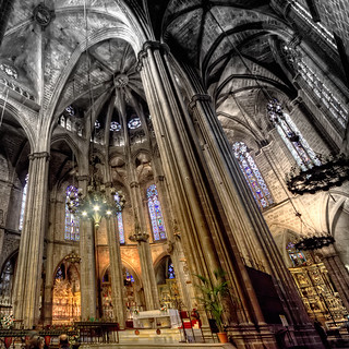 Cathedral of Santa Eulalia – Catedral de Santa Eulalia, Barcelona HDR 2 | by marcp_dmoz