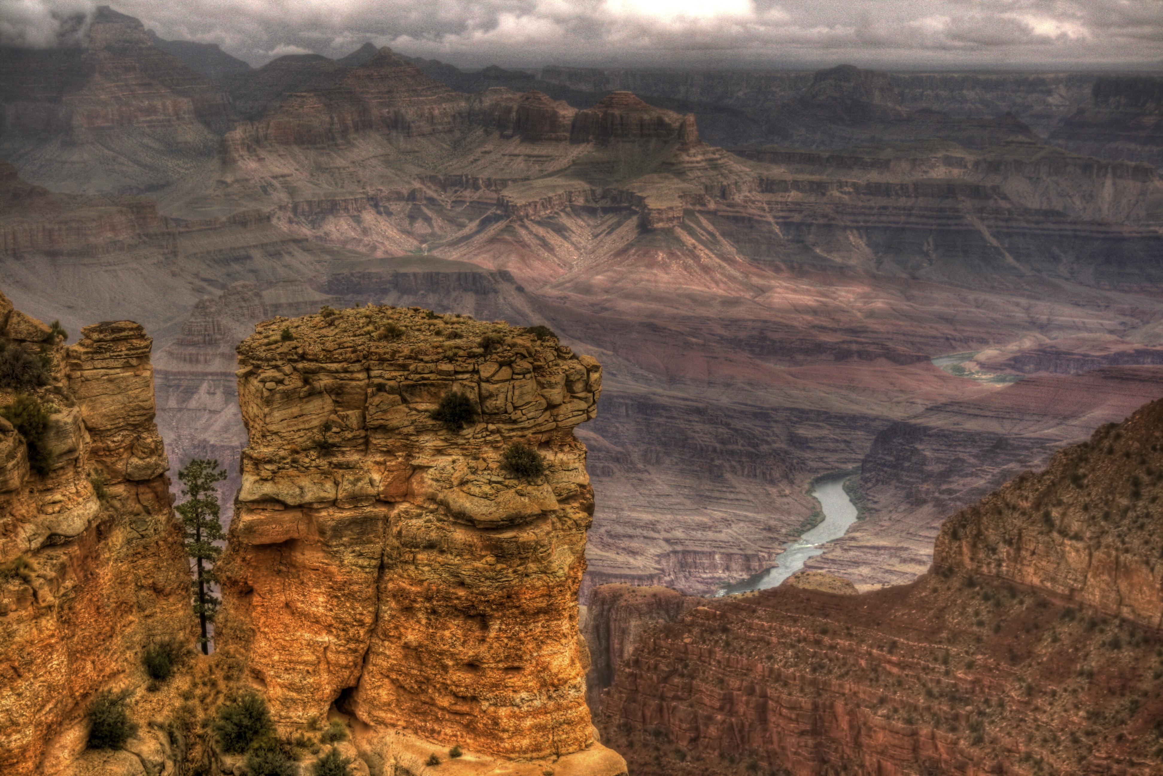Colorado river down below