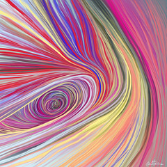 Pure Abstract - 3 | by Ben Heine