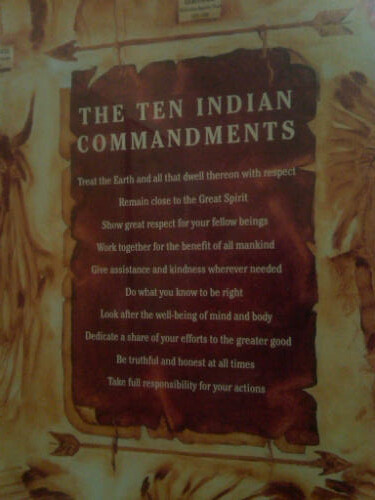 ten indian commandments essay Essays - largest database of quality sample essays and research papers on the ten commandments.