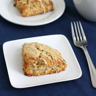 Oatmeal Nutmeg Scones | by Tracey's Culinary Adventures