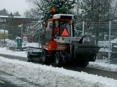 Bike Lane Snowplow in Höör Sweden | by Mikael Colville-Andersen