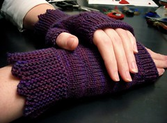 Stevie Fingerless Gloves | by yarnageddon