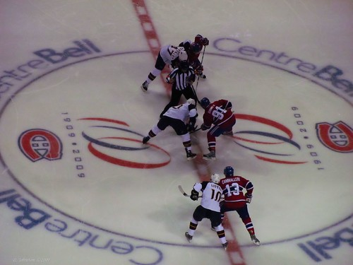 Centre Ice Faceoff