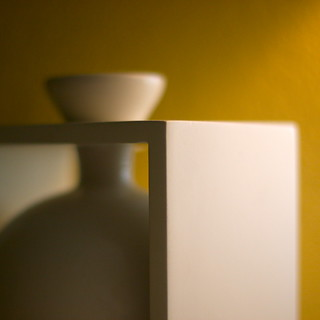 White object: depth of field | by kevin dooley