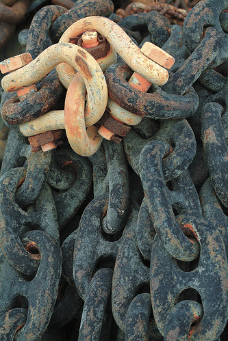 Chains for the dock. | by Randy Weiner Photography