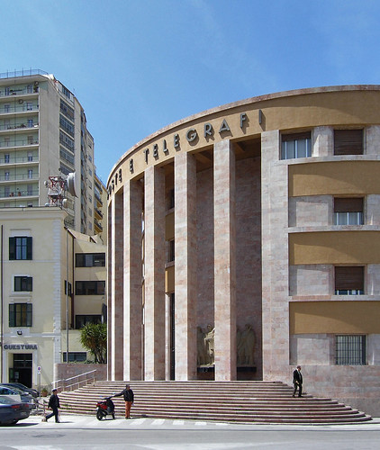 Angiolo mazzoni palazzo delle poste di agrigento sicily for Architecture poste a poste