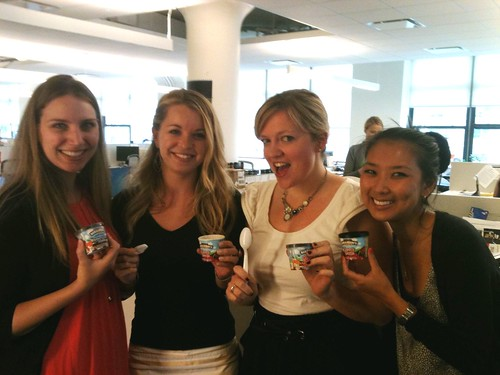 Happy gals at Edelman Digital | by Ben & Jerry's