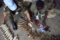 United Nations Peacekeepers Assist with Disarmament, Demobilization, and Reintegration in DRC | by United Nations Photo
