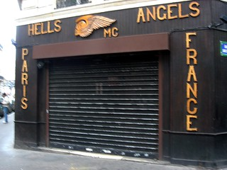 Paris Hells Angels Headquarters | by David Lebovitz