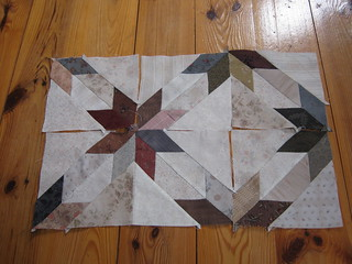 8 pointed Star Blocks | by Cathi O'Neill