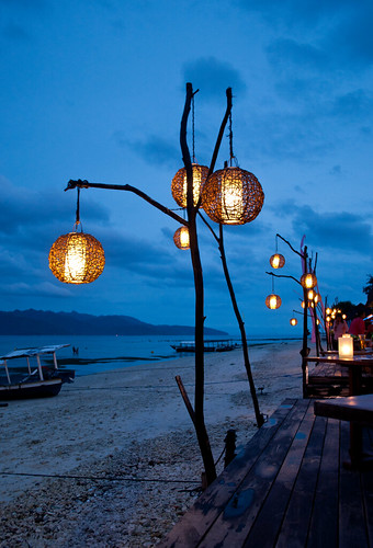 Beach Bar Lanterns