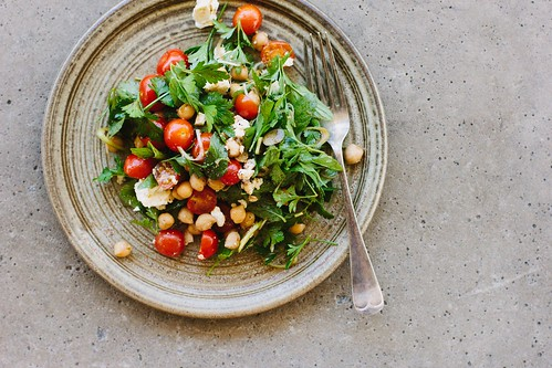 ... feta salad with pomegranate molasses dressing | by My Darling Lemon