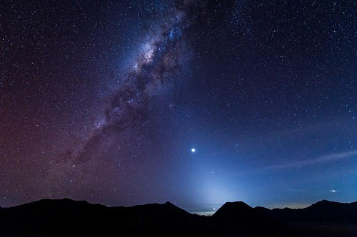 Milky Way at Mount Bromo