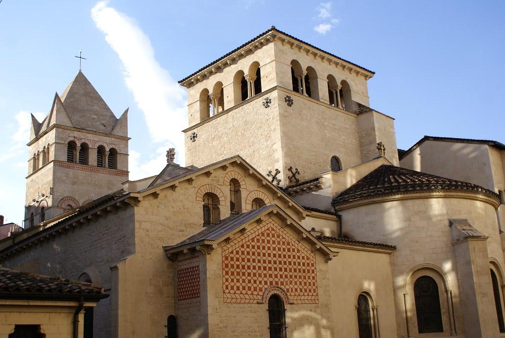 Eglise d'Ainay à Lyon : La plus ancienne église de la ville et l'une des plus belle.