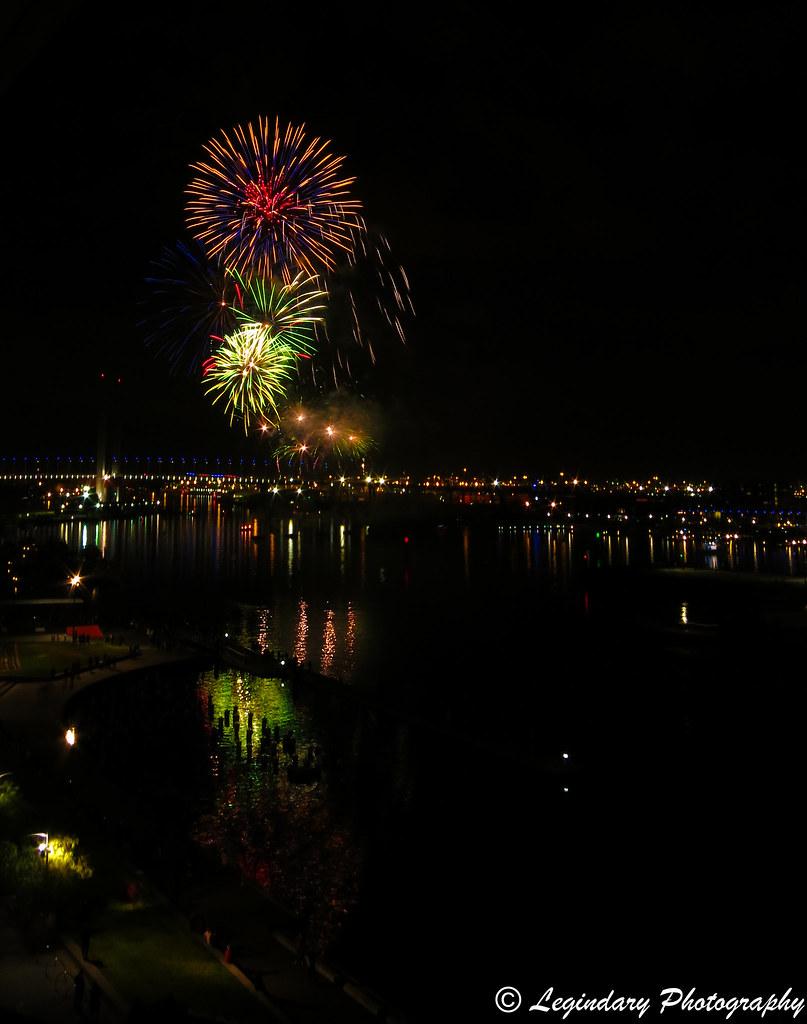 Fireworks in July