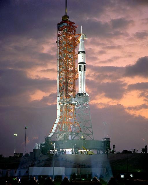 ASTP Saturn IB CDDT