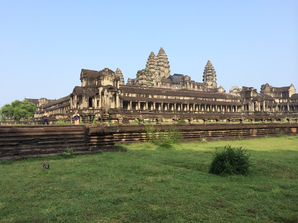 Angkor Wat Side View