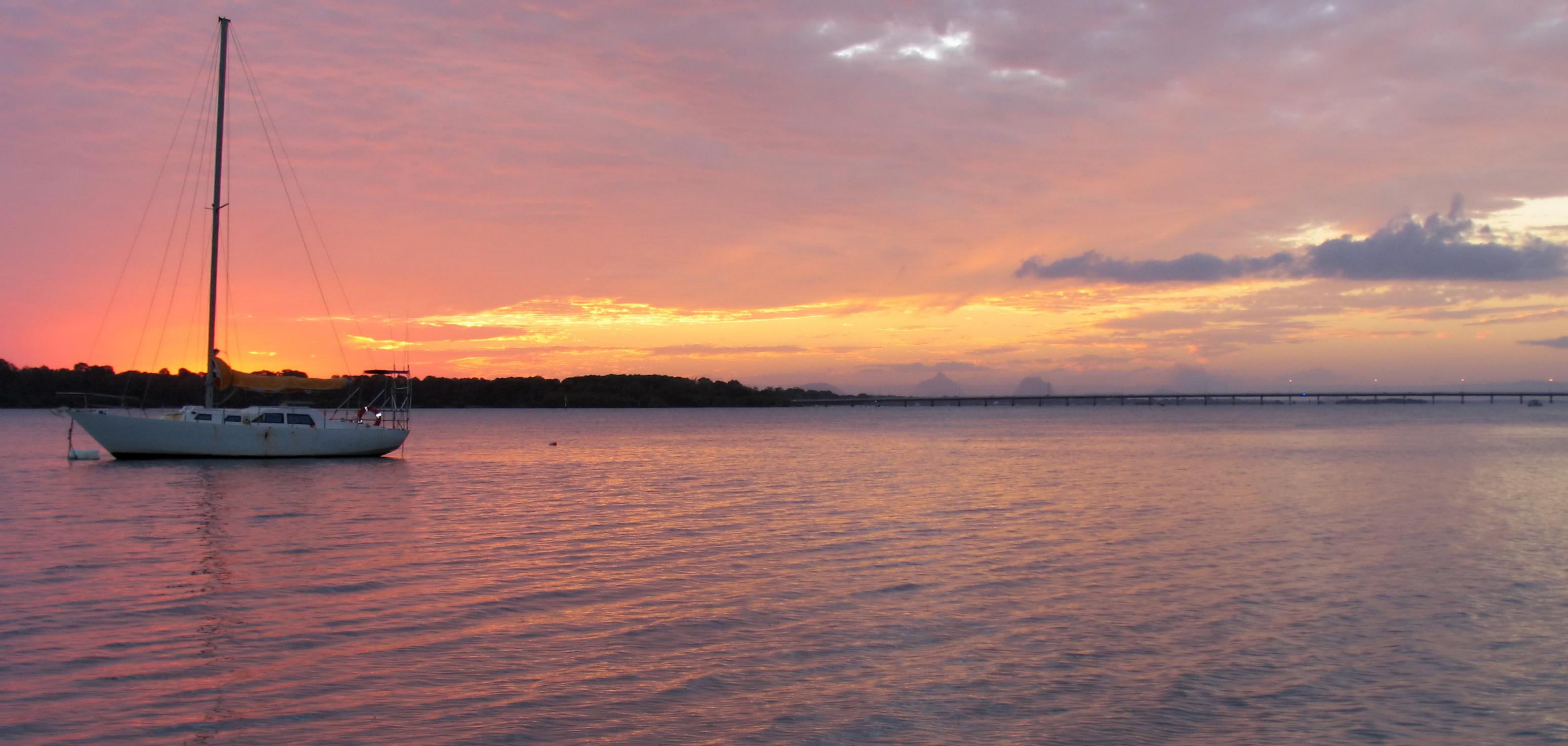 sunset bribie island (19)