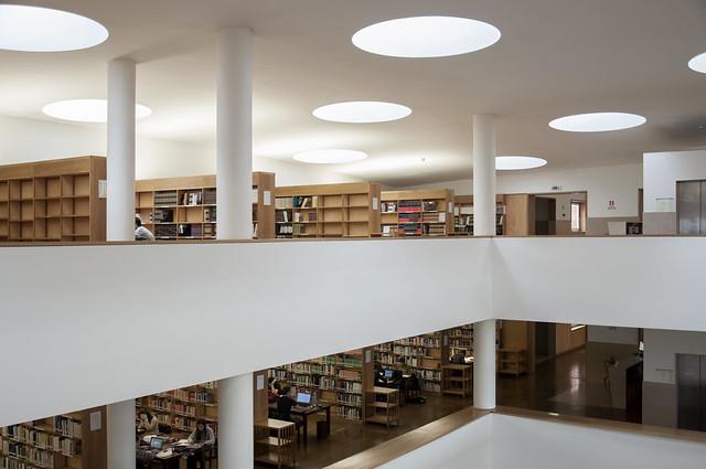 Campus da Universidade de Aveiro, Biblioteca | 1995. Álvaro Siza