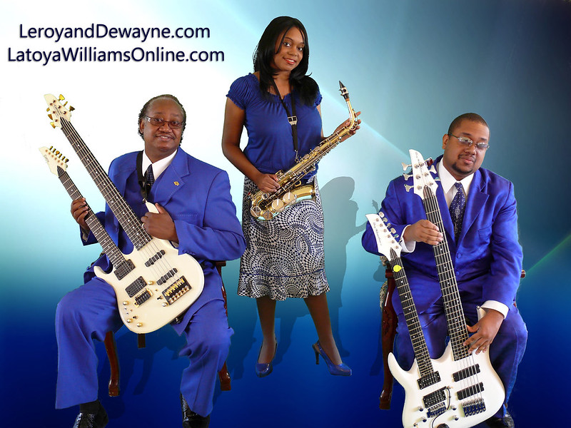 Pastor Leroy and Dewayne Williams Promo Photo Set.