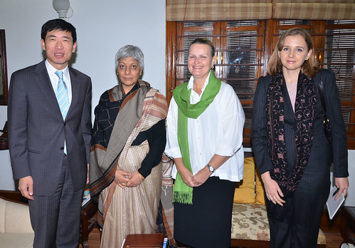 Meeting with Anita Kaul, Secretary, Department of Justice | by UNDP in India