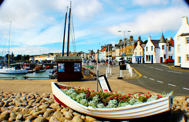 Shore Street, Anstruther, Scotland