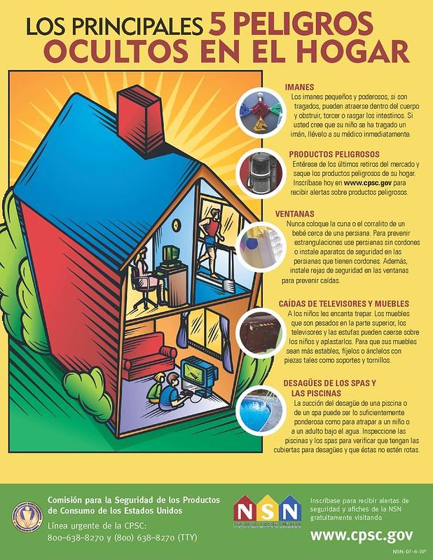 Los principales 5 peligros ocultos en el hogar