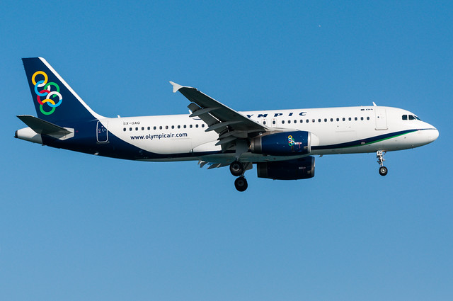 SX-OAQ - Olympic Airlines - Airbus A320-200