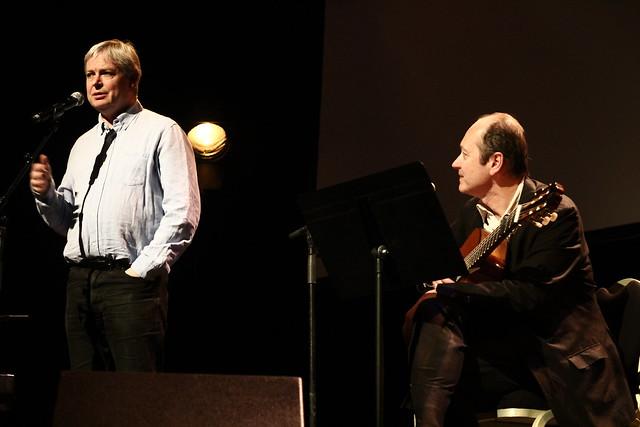 Jonathan Coe et Louis Philippe - Salon Livres et Musique 2014, Deauville