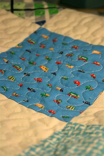Baby Boy Quilt Close up | by alissahcarlton
