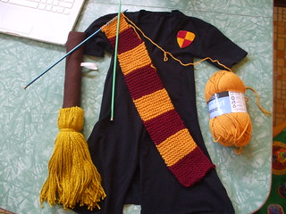costume-making on Halloween afternoon | by susanstars