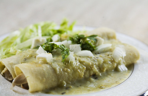 Chicken Enchiladas Verdes | recipe | Elise Bauer | Flickr