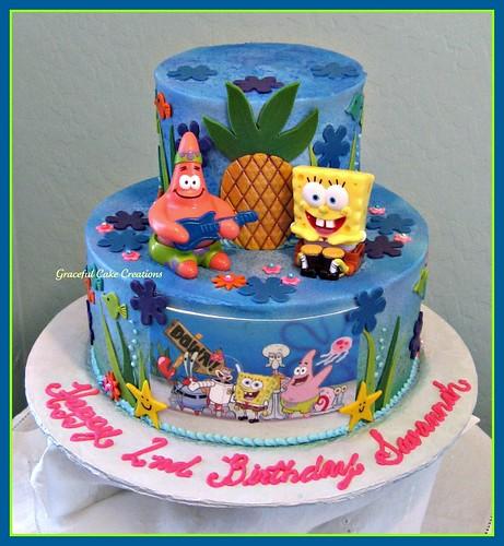 Patrick Birthday Cake