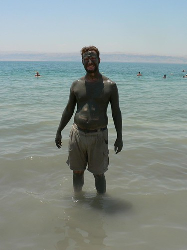 Jordan - Dead Sea - Mud and Muscles | by eviljohnius
