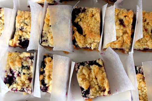blueberry crumb bars | by smitten kitchen