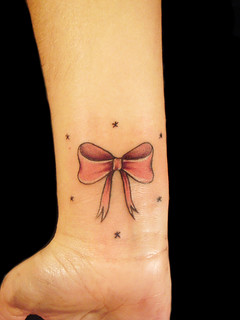 bow | by Miguel Angel tattoo