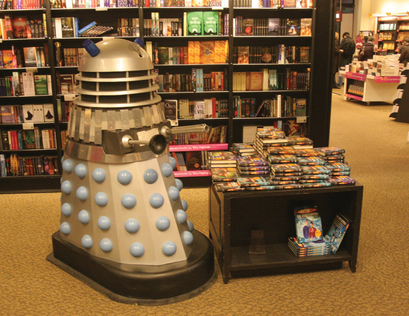 Dalek in Bookshop