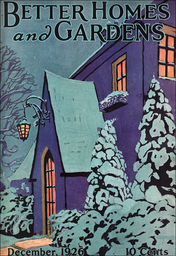 1926 Better Homes Gardens Christmas Cover The Artist Is Flickr