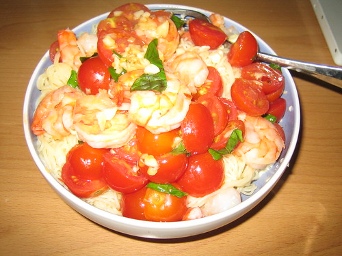 Angel Hair Pasta With Cherry Tomatoes