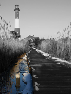 Fire Island Lighthouse Reflections in Color | by Mount Olympus Photography